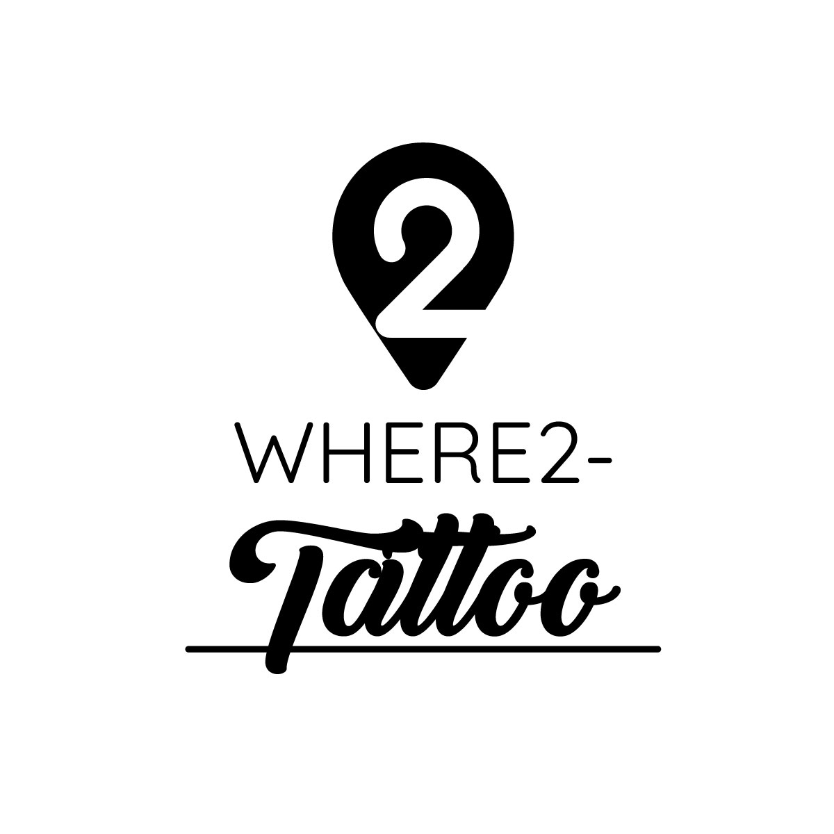Logo Where2-tattoo