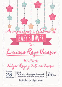 Evento baby shower
